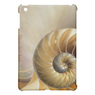 Wildlife Pern - Seashell Macro iPad Mini Cases