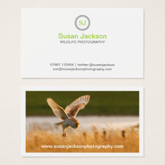 Wildlife Photography Business Card