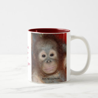 Wildlife Rainforest Charity Two-Tone Mug