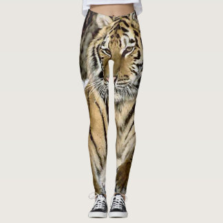 Wildlife Siberian Tiger Lover Leggings