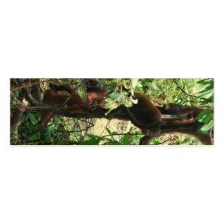 Wildlife Totem Pole Double-Sided Mini Business Cards (Pack Of 20)