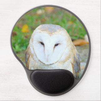 Wildlife White Owl Mousepads gifts Holidays Gel Mousepad