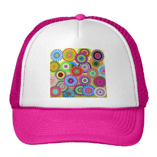 Wildly Fun Flowers Trucker Hat