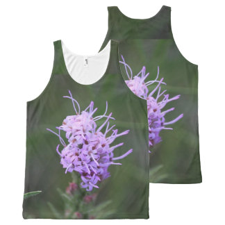 Wildly Purple Wildflower All-Over Print Tank Top