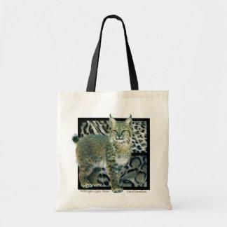 WildStyles - Lynx Power Designer Tote Canvas Bag