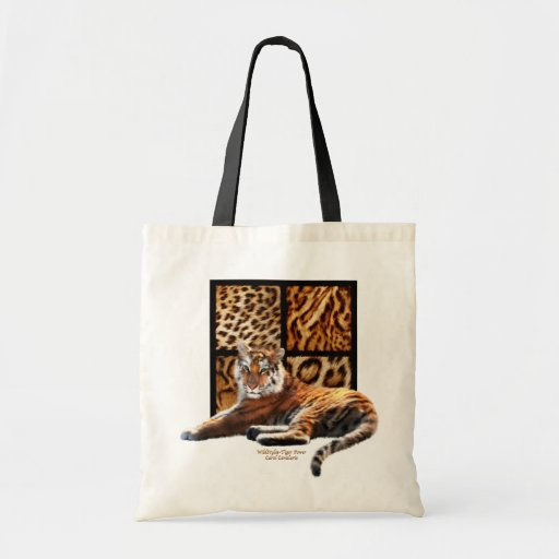 WildStyles - Tiger Power Designer Tote Bag