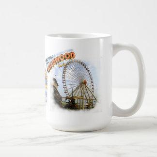 Wildwood, New Jersey Boardwalk Basic White Mug