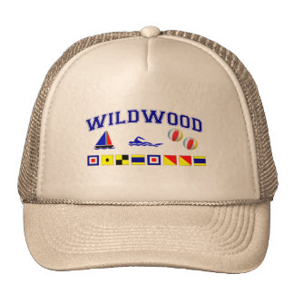 Wildwood, NJ Mesh Hat