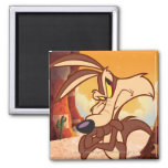 Wile Arms Crossed Square Magnet