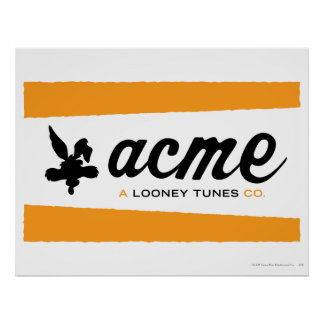 Wile E Coyote Acme 3 Posters