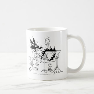 Wile E Coyote Acme Products 6 Basic White Mug