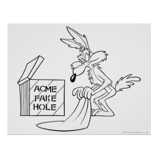 Wile E Coyote Acme Products 7 Poster