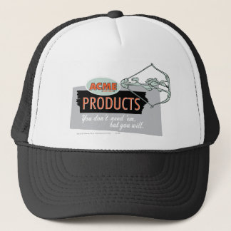 Wile E Coyote Acme Products 9 Trucker Hat