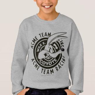 Wile E. Coyote Acme Team Racing B/W Sweatshirt