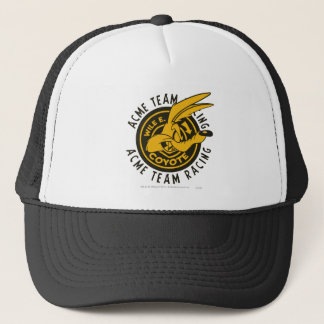 Wile E. Coyote Acme Team Racing Trucker Hat