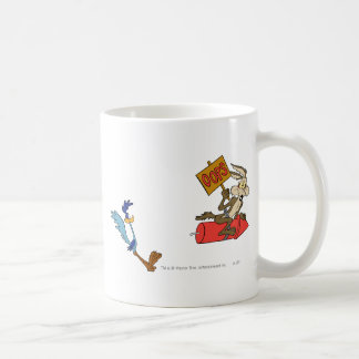Wile E Coyote and ROAD RUNNER™ Acme Products 5 2 Coffee Mug