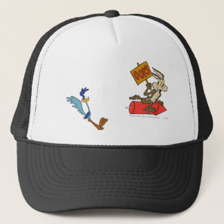 Wile E Coyote and ROAD RUNNER™ Acme Products 5 2 Trucker Hat