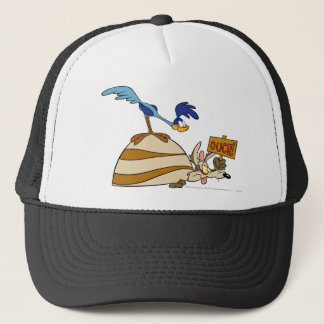 Wile E Coyote and ROAD RUNNER™ Acme Products 5 Trucker Hat