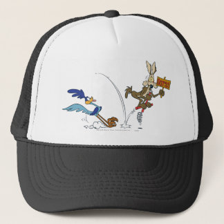 Wile E Coyote and ROAD RUNNER™ Acme Products 7 Trucker Hat