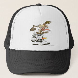 Wile E. Coyote Crazy Glance Trucker Hat