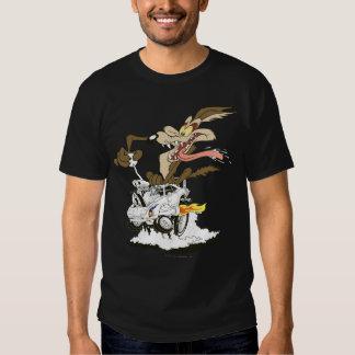 Wile E. Coyote Crazy Glance Tshirts
