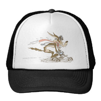 Wile E Coyote Cycle Racer Mesh Hat