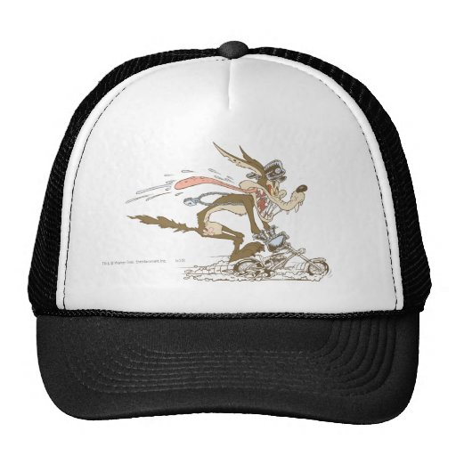 Wile E. Coyote Cycle Racer Mesh Hat
