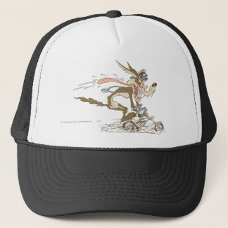 Wile E. Coyote Cycle Racer Trucker Hat