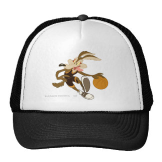 Wile E Coyote Dribbling Through Competition Cap