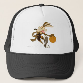 Wile E Coyote Dribbling Through Competition Trucker Hat