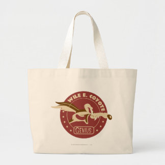Wile E. Coyote Genius Large Tote Bag