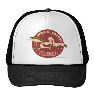 Wile E Coyote Genius Trucker Hat