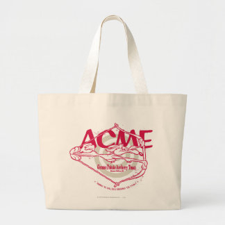 Wile E. Coyote Grosse Pointe Archery Team Large Tote Bag