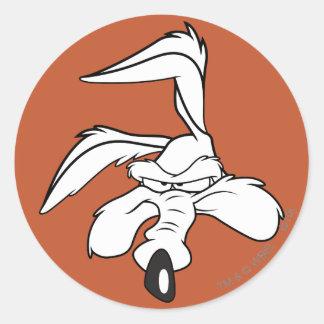 Wile E Coyote Head Shot Stickers