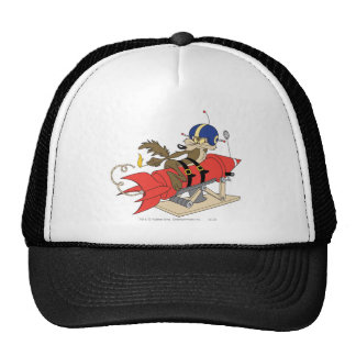 Wile E. Coyote Launching Red Rocket Cap