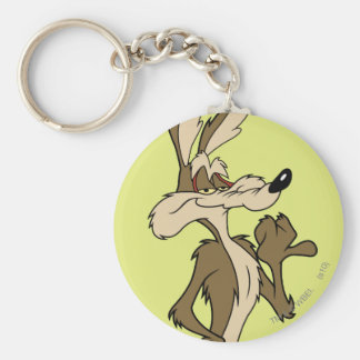 WILE E. COYOTE™ Looking Proud Basic Round Button Key Ring