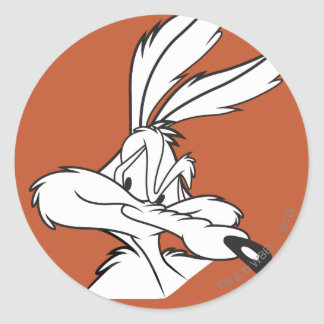 Wile E Coyote Looking sneaky Sticker