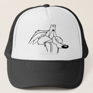 Wile E. Coyote Looking Up Trucker Hat