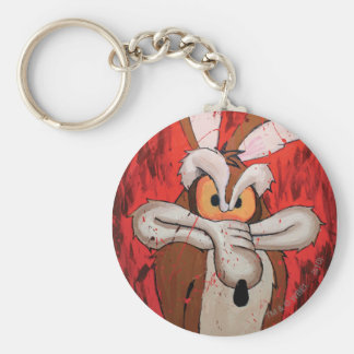 Wile E Coyote Red Fury Key Ring