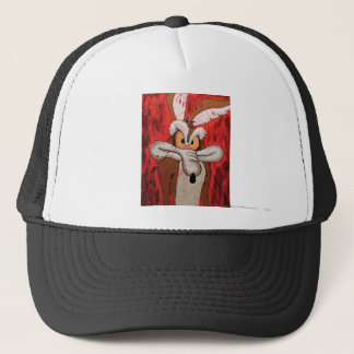 Wile E Coyote Red Fury Trucker Hat