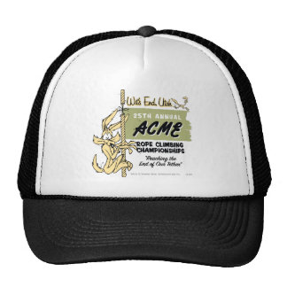 Wile E. Coyote Rope Climbing Championships Cap