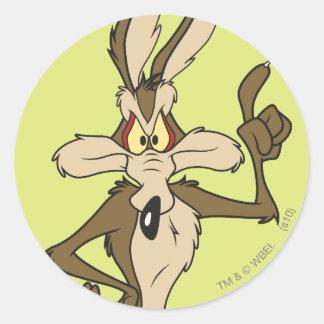 Wile E Coyote Standing Tall Sticker