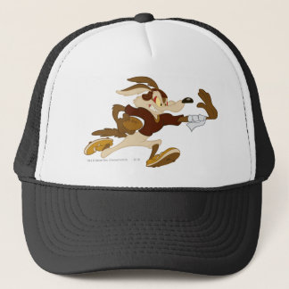 Wile E Coyote Stiff Arm B/W 2 Trucker Hat