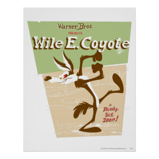 Wile Ready, Set, Zoom! Poster