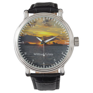 Wilfred Sykes sunset watch