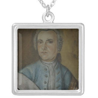 Wilhelm Friedemann Bach, c.1733 Silver Plated Necklace