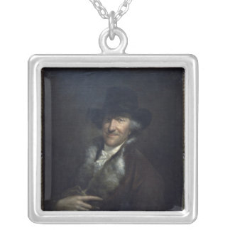 Wilhelm Friedemann Bach, c.1760 Silver Plated Necklace