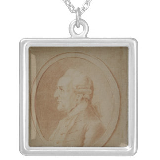 Wilhelm Friedrich Bach, 1782 Silver Plated Necklace