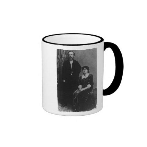 Wilhelm Liebknecht and Eleanor Aveling Mugs