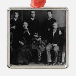 Wilhelm Liebknecht and his family Christmas Ornament